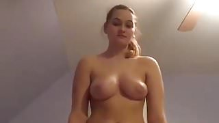 BEAUTIFUL BIG TITS TEEN TEASES FOR BF