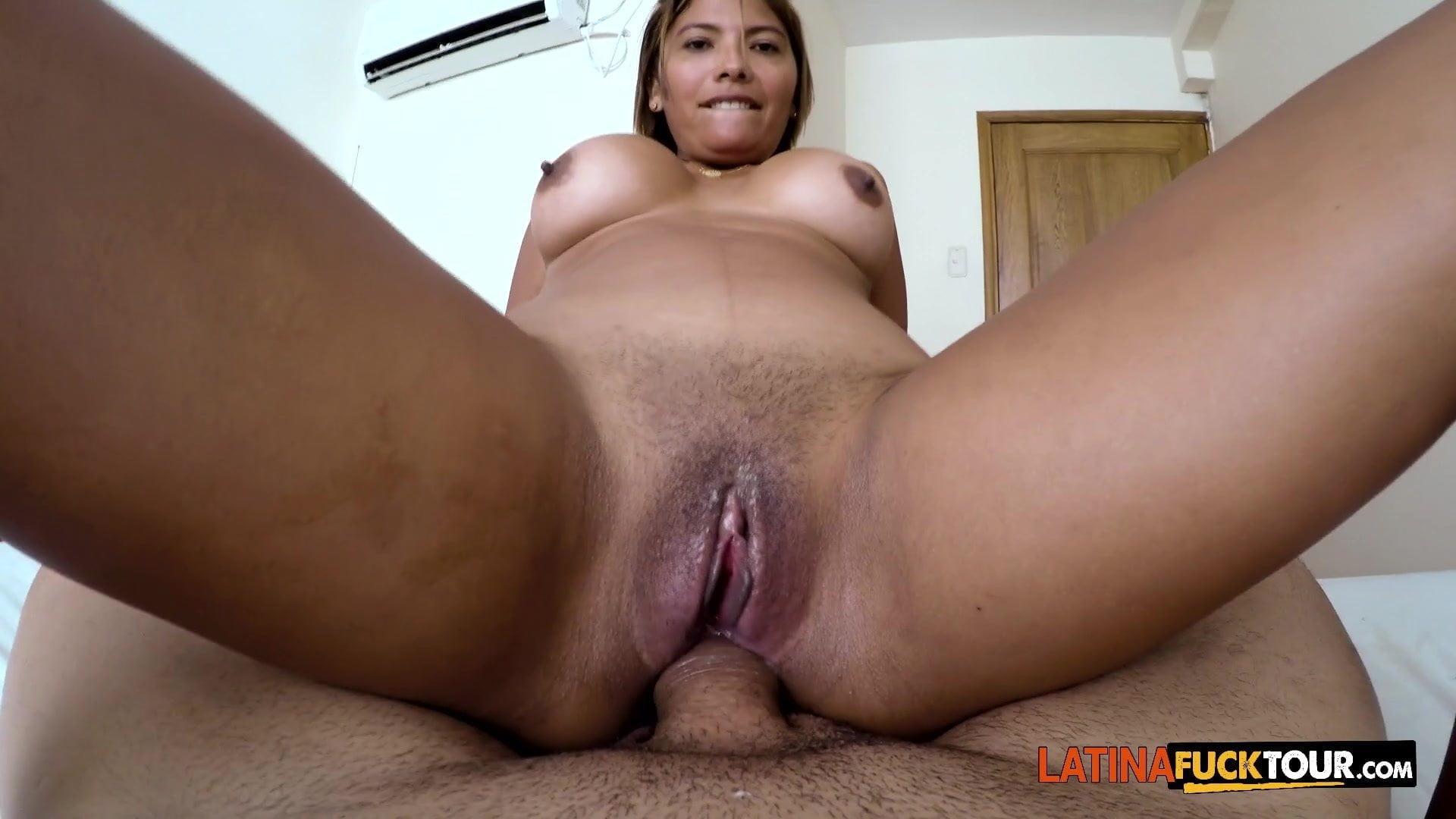 Latina Anal Creampie