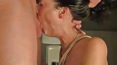long gay men fucking threesome with woman right! Idea