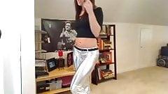 Shiny pants. JOI