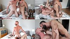 Jake & Donnie enjoy a hot, bareback fuck session