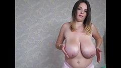 Talia bouncing boobs
