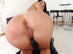 Sapphix presents Rivera in a solo masturbation scene