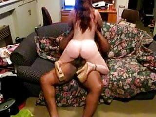 Big booty redhead wife fucked by black guy