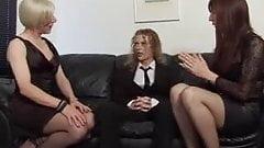 Transvestite orgy