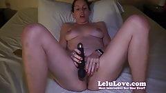 Lelu Love-Vibrator Masturbation Orgasm On Live Webcam Show
