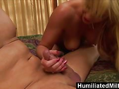 HumiliatedMilfs - Phyllisha Anne Sucks The Cock That's Been