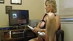 Check My MILF Granny playing with her well used pussy