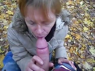 Mature Suck My Cock In Public