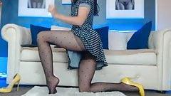 Polka Dots Pantyhose