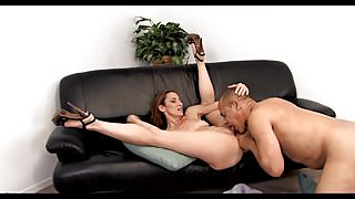 gets her pussy licked and fucked