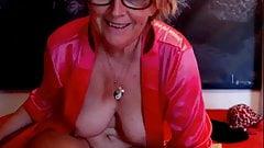 Granny Spreads Nice Ass
