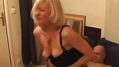 French blond mature