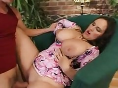 Saggy Floppers MILF fucked young guy