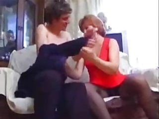 Hot Redhead Mature seduced and fucked by Young man