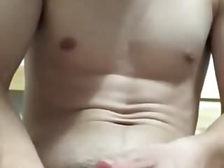 Preview 5 of Asia Twink Boy Cum on Cam