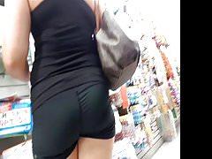 Big Meaty Ass in Store Shopping