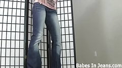 My tiny little jeans shorts make me feel so sexy JOI