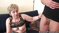 Hot threesome orgy after masturbating