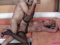 Phoenix Marie Meets a Hot Stud