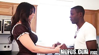 Mofos - Milfs Like It Black - Big Ass Maid starring  Madison