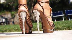 high platform heels