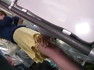 Video of a woman being fucked in front of husband in a crowd