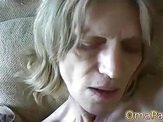 OmaPasS Natural Hairy Mature Amateur Porn Video