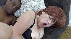 Grandmas pussy needs a hard cock
