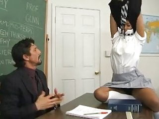 12th grade sucks - Chocolate skin school girl gets her grades up,by blondelover
