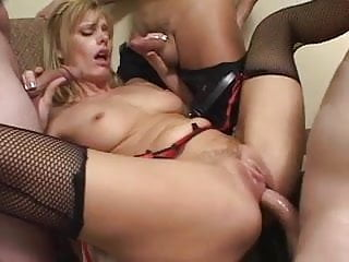 MOTHER FUCKING CREAMPIE GANGBANG Part 1