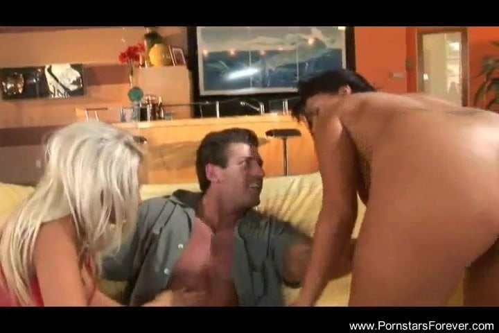 Thrilling threesome featuring two milfs
