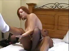 Sexy milf interracial cuckold