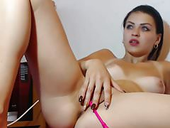 romanian cam-slut hairy and tanned