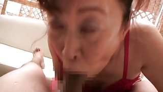 Japanese Mature BJ CIM 19