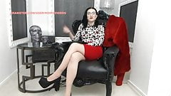WM 519 Milf Legs & Heels tan Pantyhose