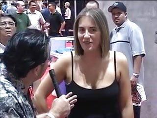 Sexual dancing in bikinis - Women in bikinis pole dance