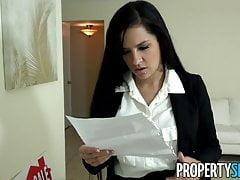 PropertySex - Ruthless real estate agent fucks big dick