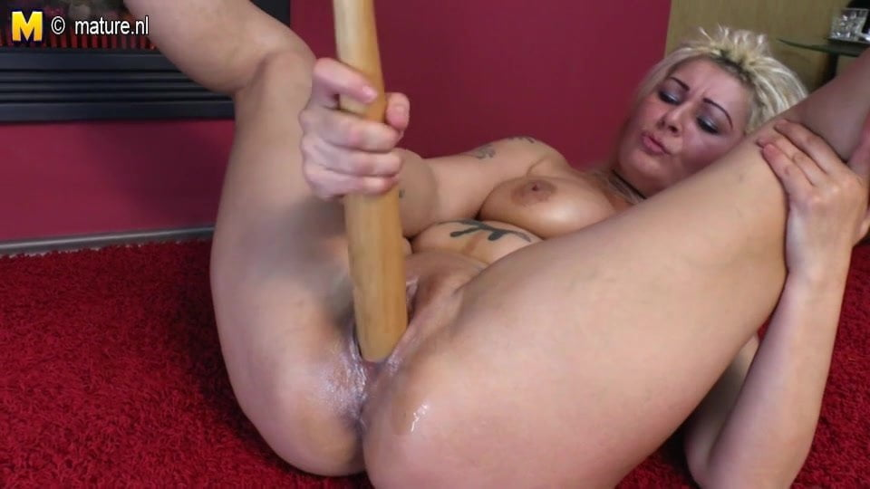 Mature baseball bat sex