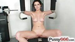 Big tits Ashley Stillar pussy closeups
