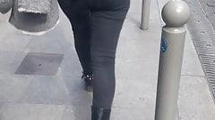 Tight jeans ass teen. France