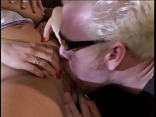Hot blonde slut with great big tits gets her pussy filled with big dick