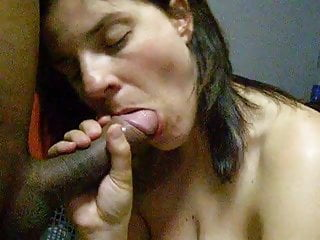 Amateur wife blowjob (no cumshot)