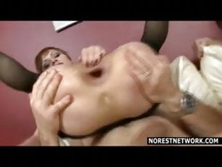 Group sex and double anal with intense action