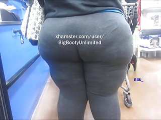 Massive Wide Booty Vpl Legging Shorty