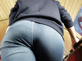 Blonde's beauty big ass