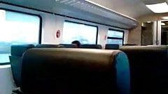 public train jerk-off