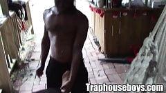 Thugs gets a mouthful of jizz