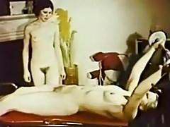 Vintage lesbian workout