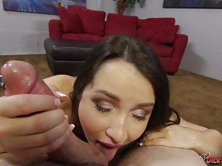 Latina Lola Foxx Sucking a Cock